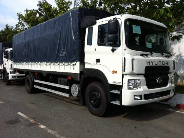 xe tải 8 tấn hyundai thùng bạt
