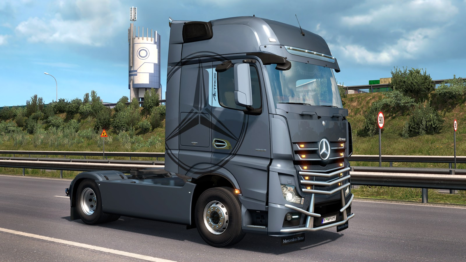 SCS Software's blog: Actros Tuning Pack