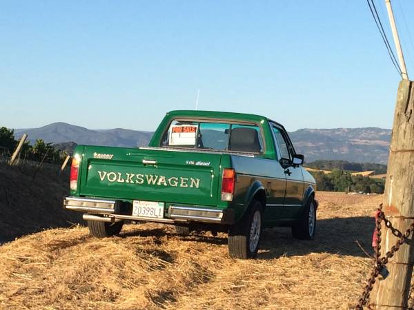 1982 VW Rabbit TDi Pickup - Buy Classic Volks