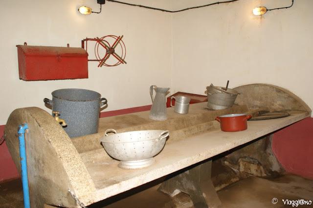 Il Fort de Schoenenbourg era dotato di varie cucine