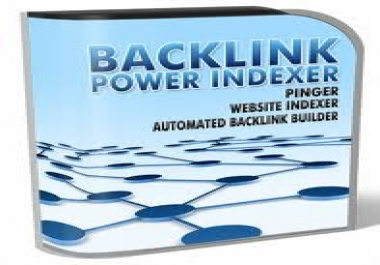 Backlink Power Indexer Cracked With License Key