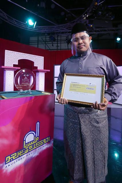 Senarai Masjid Yang Memenangi Anugerah Masjid Malaysia Tahun 2021