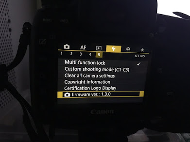Canon 5D Mark IV firmware version 1.3.0