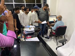 छात्र आंदोलन को मिली आंशिक सफलता; अभी के लिए e-लॉटरी प्रक्रिया स्थगित | #NayaSaberaNetwork