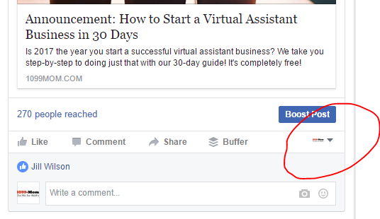 Learn how to set up a Facebook business page for your Virtual Assistant Business. #VAin30