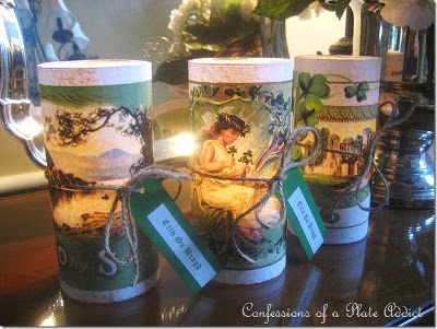 Ireland Forever Ering Go Bragh Candle Designs Tutorial Craft