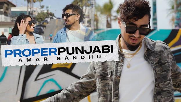 Proper Punjabi Song Lyrics | Amar Sandhu | SpinSingh | Joty Kay | Latest Punjabi Songs Lyrics Planet