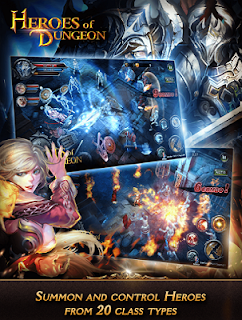Heroes of Dungeon v1.01 APK DATA [Unlimited Mana]