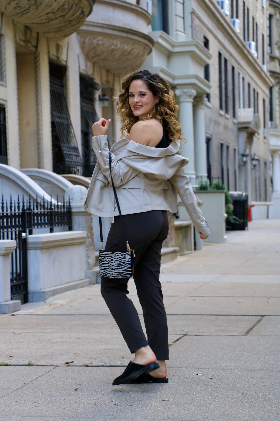 Nyc fashion blogger Kathleen Harper fall street style.
