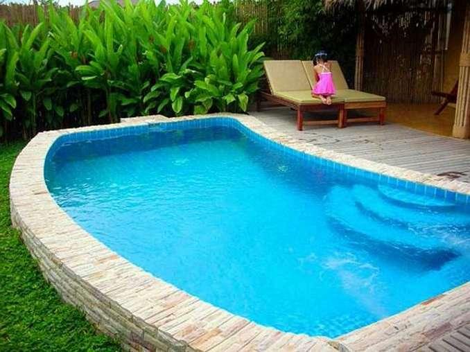 desain menawan kolam renang minimalis tips gambar dan