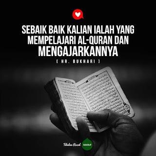 hadits tentang membaca Al Quran