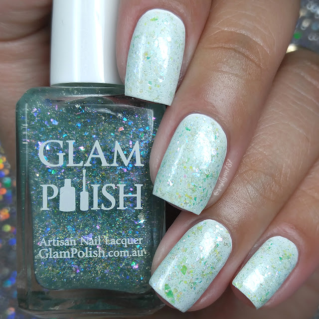 Glam Polish - I Will Keep These Lights Up Till The Day I Die!