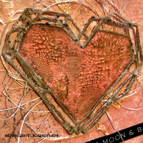 Sara Emily Barker https://sarascloset1.blogspot.com/ Tim Holtz Sizzix Geo Frames Crochet 2 Valentine Card Set Tutorial 5