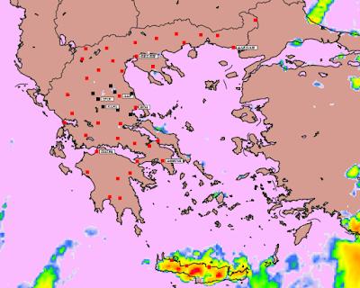 8 - Υψηλές θερμοκρασίες και επιλεκτικές βροχές την Παρασκευή
