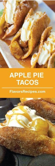 Apple Pie Tacos!!