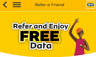 Refer And Earn Free Data on MTN