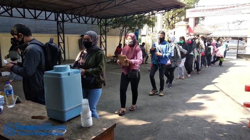 Kapolres Metro Bekasi Pantau Pelayanan Polsek Tambun Pasca Dihentikan Pelayanan