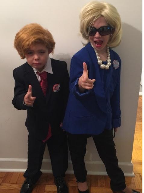 Donald and Hillary Kids Halloween Costume