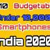 Top 10 Budgetable Under 10,000 Phones 2020-21