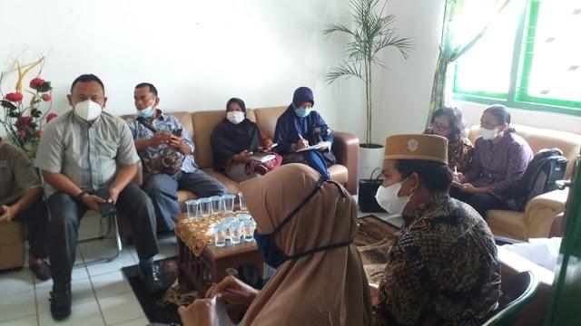 Rakor Gebyar Vaksin Guru Kecamatan Sipispis Turut Dihadiri Polsek Sipispis