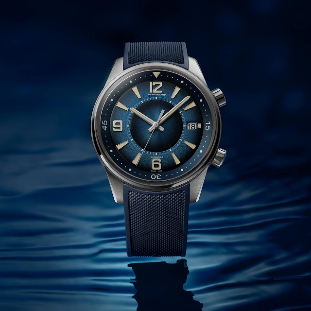 Jaeger-LeCoultre Polaris Date Blue Edition Ref. Q9068681