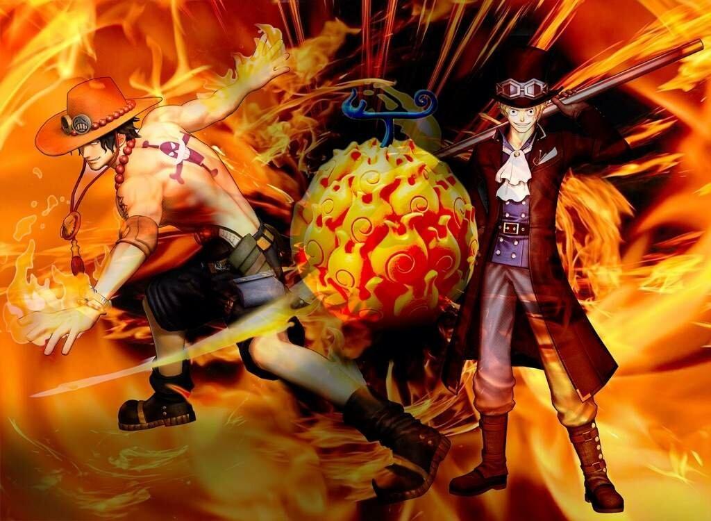 Buah Iblis Logia di One Piece