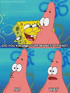Polosan meme spongebob dan patrick 97 - spongebob best friend
