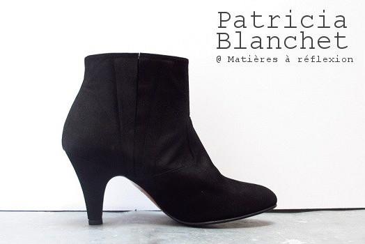 Bottines Patricia Blanchet noires