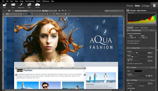 Screenshot StudioLine Web Designer Pro 4.2.47 Full Version