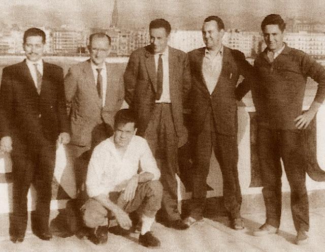 Campeonato de España por equipos, Bilbao 1957