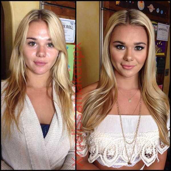 18 Model Playboy Terseksi Sebelum Dan Setelah Makeup