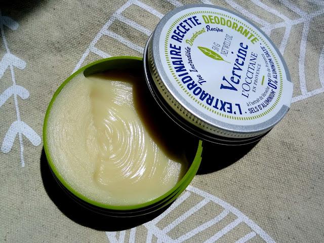 L'Occitane Verbena The Incredible Deodorant Recipe