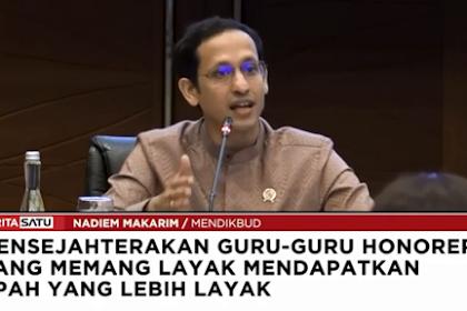 Berbahagia, Gaji Guru Honorer di Kemdikbud Bakal Naik