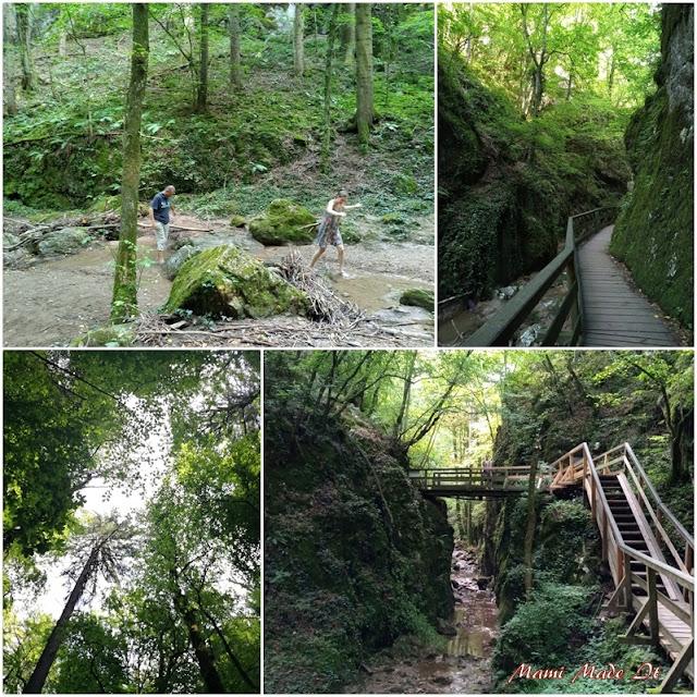 Ausflug in die Johannesbachklamm - Trip to a gorge