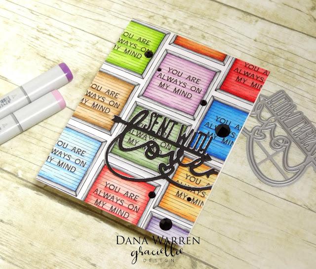 Kraft Paper Stamps - Graciellie Designs - Tonic Studios