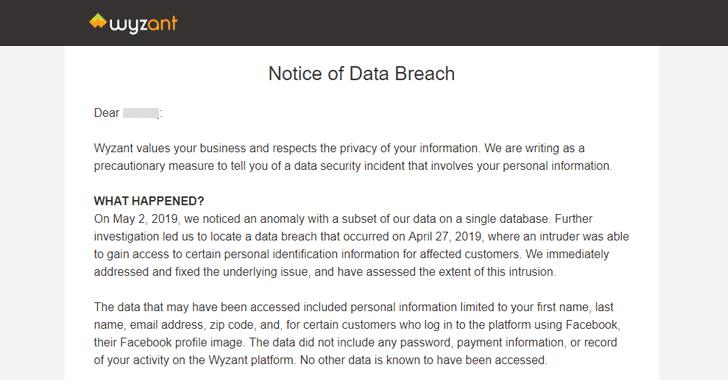 Wyzant data breach