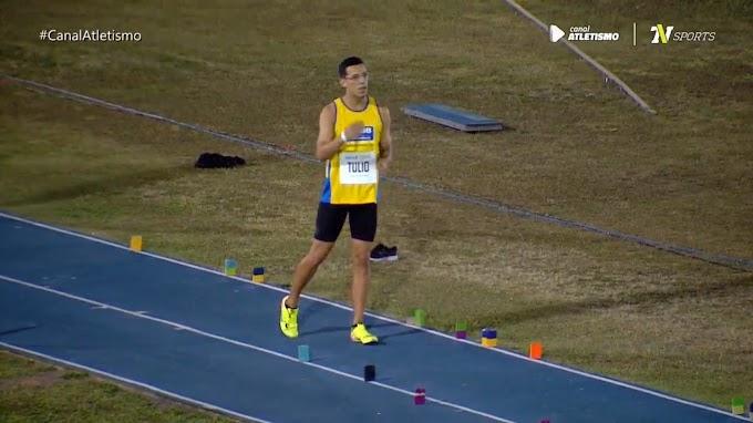 Curraisnovense Túlio Pinheiro disputou Final do Salto em Distância do Troféu Brasil de Atletismo