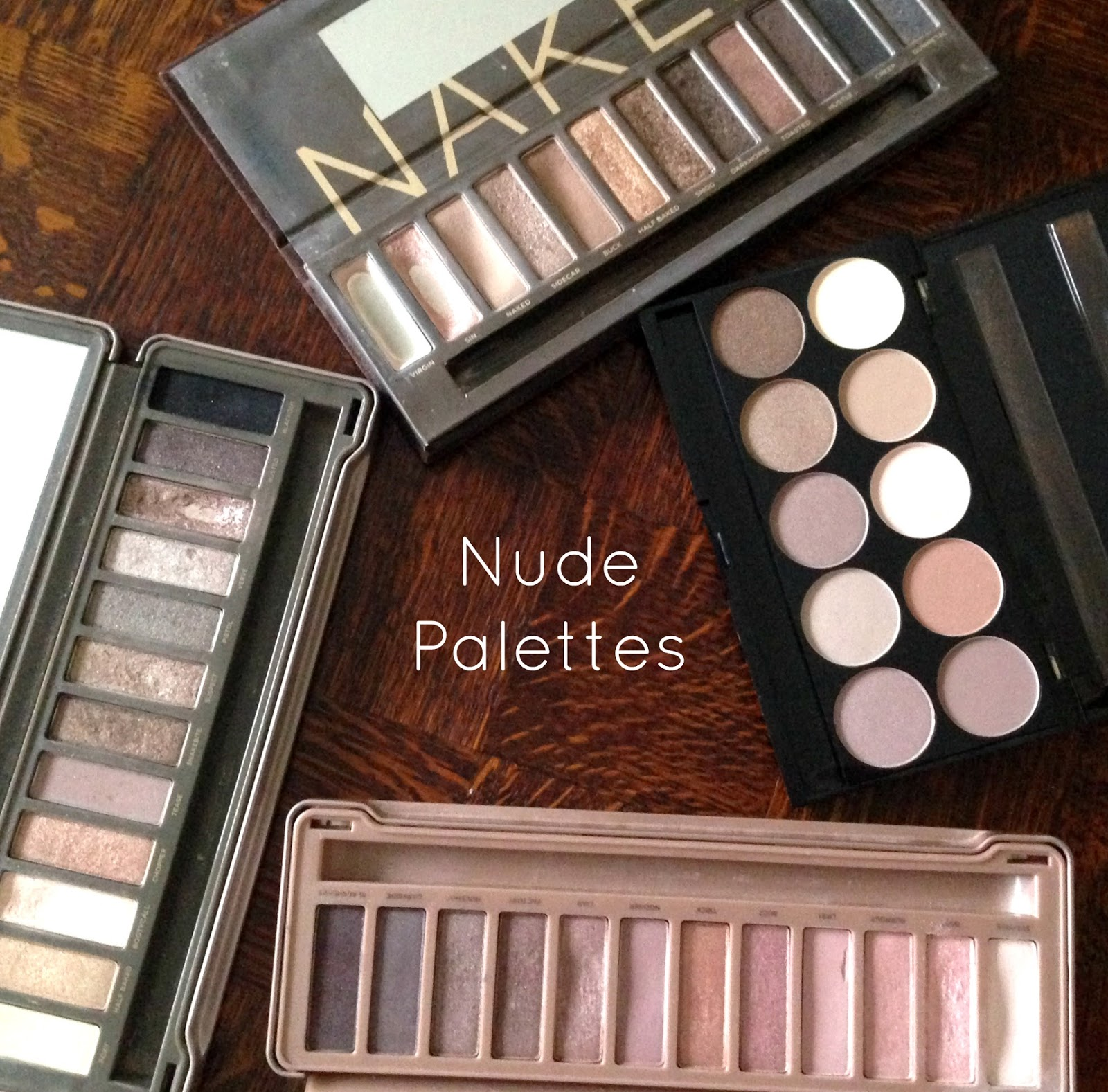 Nude Eyeshadow Palettes, Urban Decay and W7