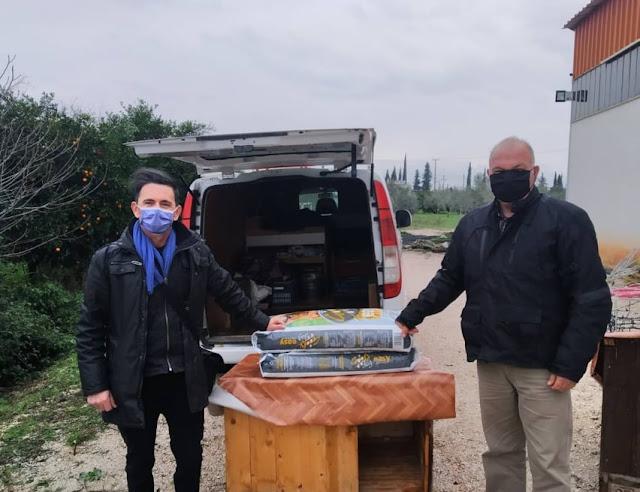 Άμεση ανταπόκριση του Δήμου Ναυπλιέων για βοήθεια σε φιλόζωους στο Ανυφί