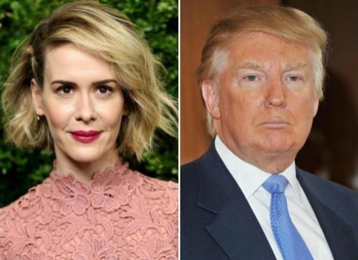 American Horror Story - Sarah Paulson Cast as Donald Trump