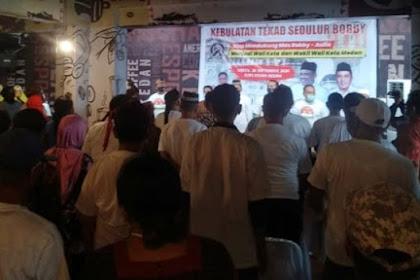 Kubu Mantu Jokowi Langgar Protokol Kesehatan di Hari Pertama Kampanye