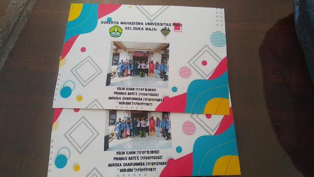 Stiker Kukerta Mahasiswa UNRI