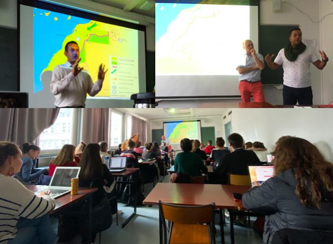 جامعة ديكارت الفرنسية: تصفية الإستعمار في الصحراء الغربية محور محاضرة لفائدة طلبة ماجستير2 بكلية العلوم الإنسانية والإجتماعية.