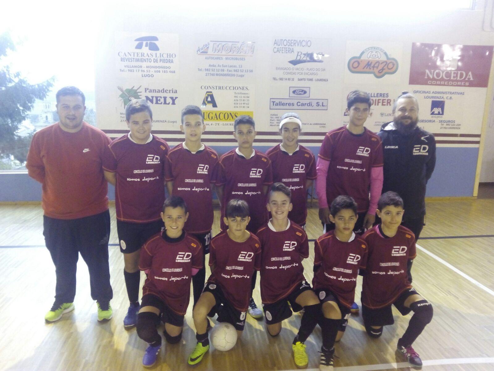 Escolas Deportivas Lourenz F Sala Os Infant S Do Maderas  # Muebles Javi Vegadeo