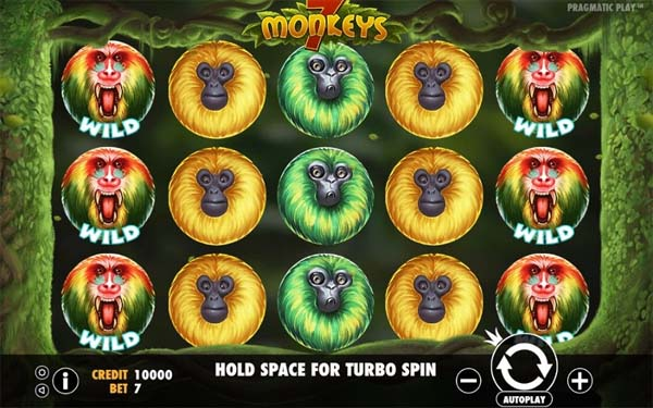 Main Gratis Slot Indonesia - 7 Monkeys (Pragmatic Play)