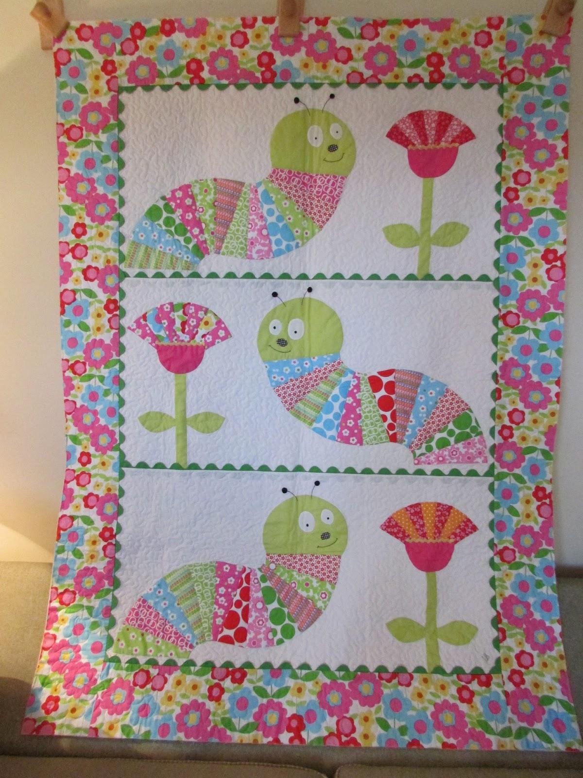 Rose Cottage Quilts Caterpillar Quilt