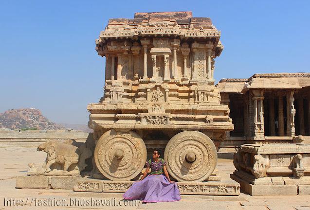 Hampi Vittala temple chariot UNESCO