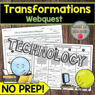 Transformations Webquest