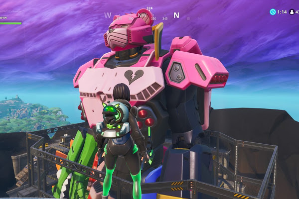 The Fortnite Season 9 leaks a giant confrontation for season 10