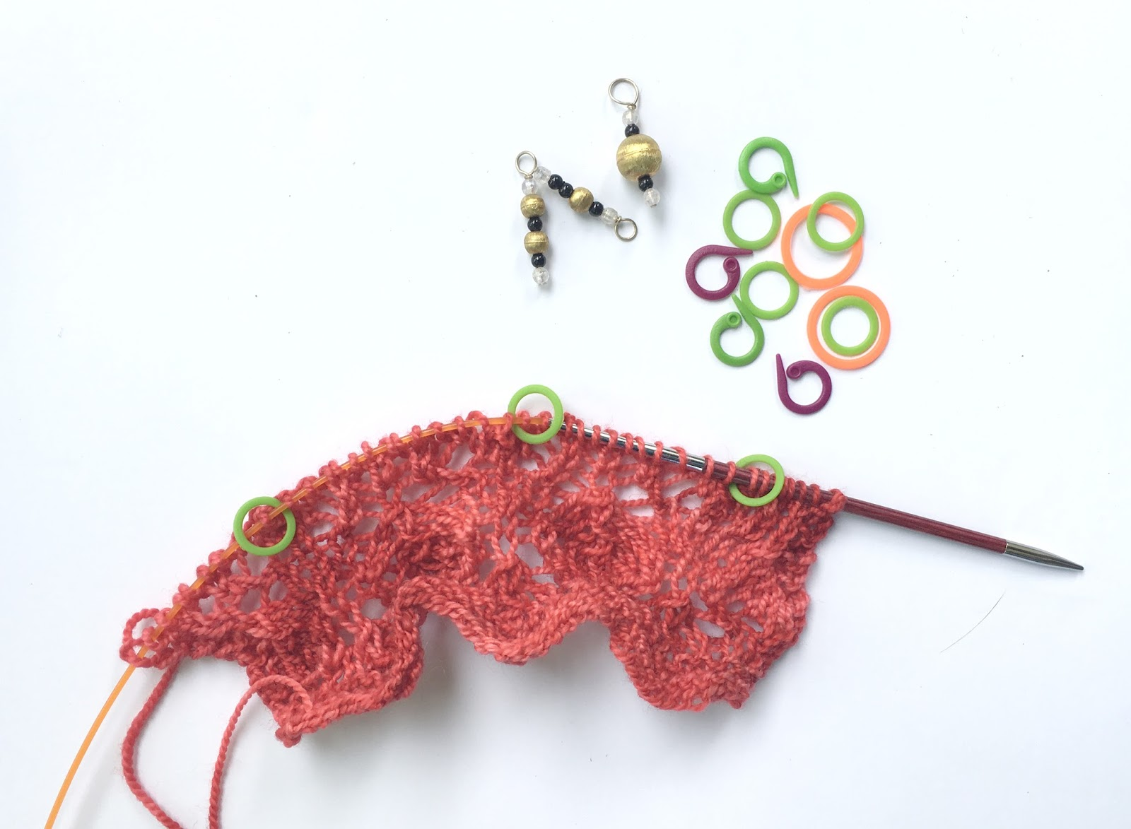 Lace Knitting Stitch Markers : Knitters Pride: The Right Tools For Lace Knitting